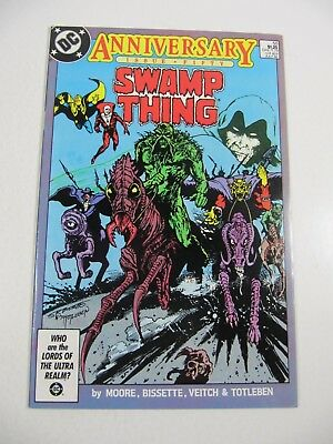 Swamp Thing Anniversary Issue #50 (DC Comics 1986) 1st Justice League Dark VF/NM