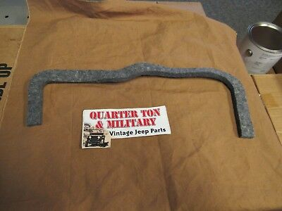 jeep willys mb gpw glove box felt seal museum quality g503