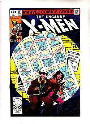 X-men 141 signed by Chris Claremont