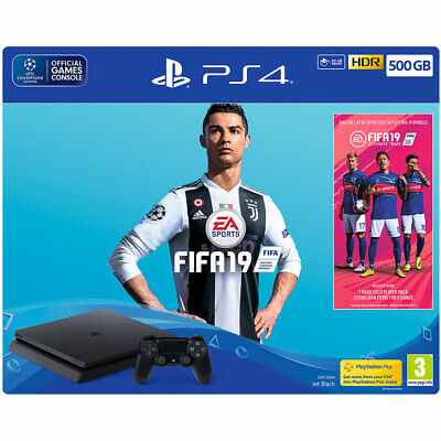 Sony PlayStation P4HEHWSNY74351 500GB PS4 with FIFA 19