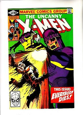 X-men 142 signed by Chris Claremont