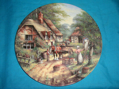 Wedgwood - Country Days - The Apple Pickers - Collector Plate