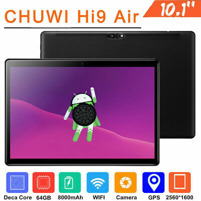 "CHUWI Hi9 Air Android Tablet 10.1"" 4G 64G Android 8.0 Phone Call Tablet US Plug"