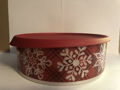 Tupperware® NEW Christmas Holiday  Cookie Snack Canister
