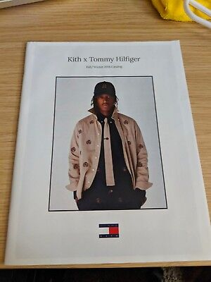 Kith x Tommy Hilfiger Fall / Winter 2018 Catalog Lookbook 63 Pages New