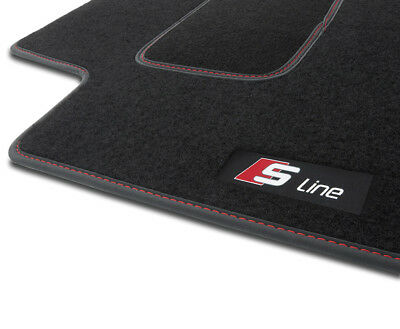 S3HS TAPPETI TAPPETINI moquette velluto S-LINE AUDI A4 B8 2008-2015