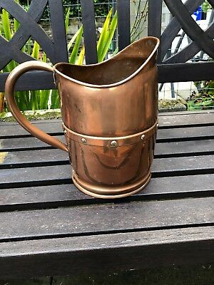 Splendid Arts & crafts Copper Jug