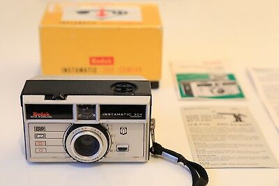 Vintage KODAK Instamatic 204 Camera - Boxed with instructions & Guarantee