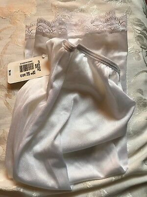 Copper Key Girl's Half Slip White Size 10 Rare NWT