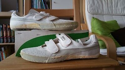 Puma Tournament Vintage 70s Shoes Schuhe 1774 gr 10 trainers new ds neu tennis
