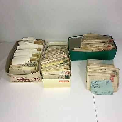 Large lot of antique USA Stamps