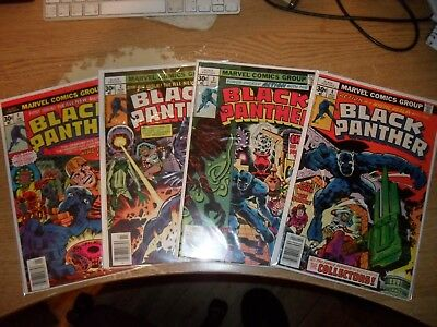 Black Panther 1-15 Jack Kirby high grades all cents