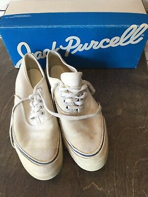 Vintage converse jack purcell Sneaker Oxford made in usa Size 9 Canvas 70s 60s