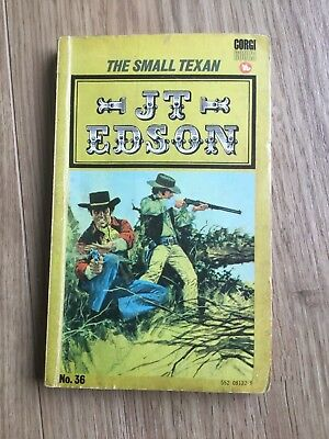 J T Edson (36) The Small Texan Paperback book