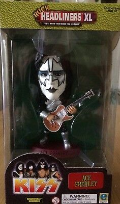 Kiss Rock Headliners Xl Ace Frehley Offical Numbered 00057 Boxed