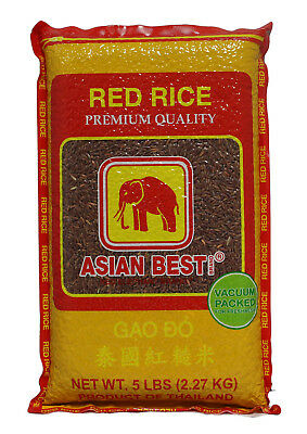 Asian Best Jasmine Red Rice, 5 Pounds - Wynmarket