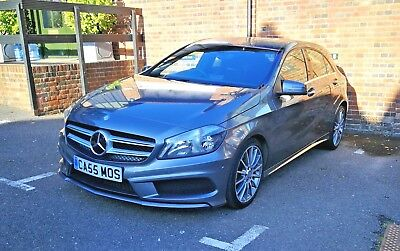 Mercedes-Benz A220 Cdi Amg Sport 7G-Dct Blue Efficiency