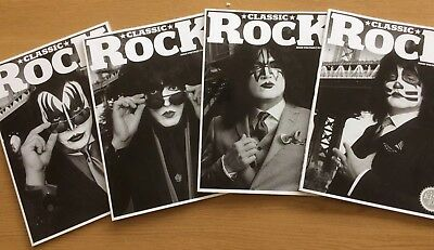 KISS CLASSIC ROCK 40th ANNIVERSAY SPECIAL BOX SET WITH POSTER 2014
