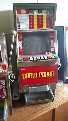 Vintage Bally Draw Poker Slot Machine 1980's ????(Local Pickup Only)