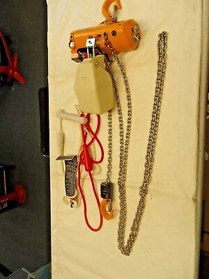 HARRINGTON Mini Cat AIR POWERED CHAIN HOIST  AH SERIES