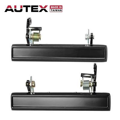 2x 77094 77095 Outer Front LH RH Door Handle For 1983-1988 Chevy//Pontiac//Buick
