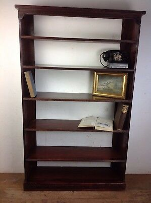 Antique Wooden Bookcase Old