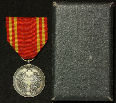 Manchukuo China Japan Red Cross Medal set Order Ordre orden ordine medaille