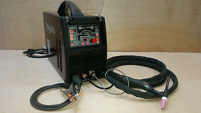 SWP DIGI-TIG 200A ACDC - INC TORCH, EARTH, GAS HOSE, 13A PLUG - very little use