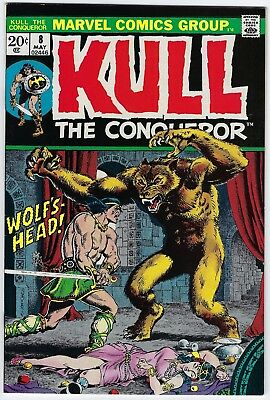 Kull The Conqueror #8 Marvel Comics 1972 VERY FINE+