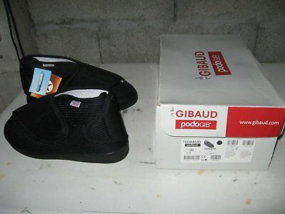 Chaussure GIBAUD PODOGIB Sparte noire taille 40