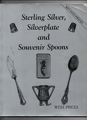 1994/Sterling Silver, Silverplate, & Souvenir Spoons w/Prices/Preowned Book