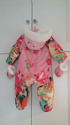 Ted Baker Baby Girl Snowsuit -size 3-6 months