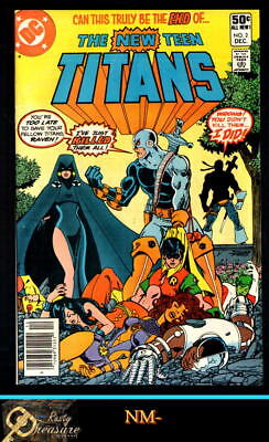 New Teen Titans #2 Nm- White Pages, Tight Cf, Clean Staples! (Dec. 1980)