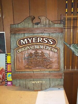 Myers's Rum Sign