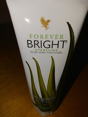 Forever Living - BRIGHT - Aloe Vera Tooth Gel - NATURAL MINT-No Fluoride -  NEW