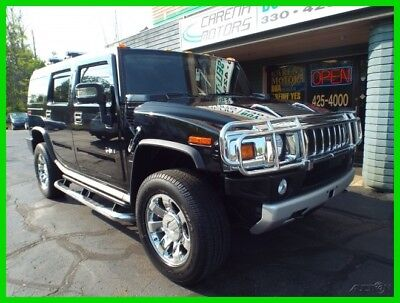 Hummer H2  2009 HUMMER H2 Luxury Black Clean Carfax Excellent Condition
