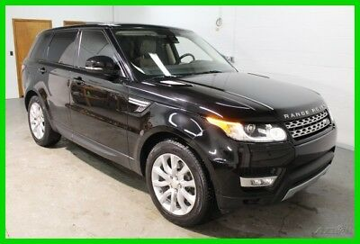 Land Rover Range Rover Sport 3.0L V6 Supercharged HSE 2015 Land Rover Range Rover Sport HSE Black Carfax One Owner Supercharged 3.0