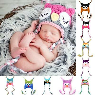 Baby Crochet Hat Custom Made Baby Hat Newborn Photography Props 0-12Months