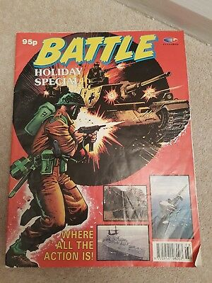 Battle comic Summer Holiday Special 1991 by Fleetway
