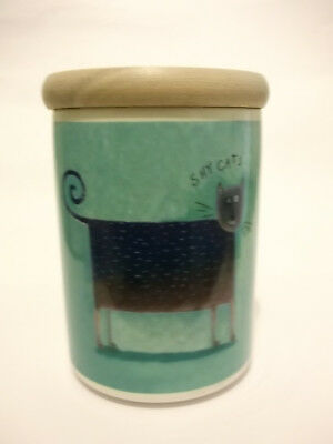Shy Cats - Portmeirion Canister