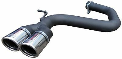 VW Scirocco 2.0 TDi 170 Exhaust Rear Silencer Delete Tailpipe ULTER Twin 70mm