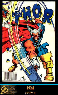 THOR #337 & 338 NM 9.4 or Better! 1ST & 2ND APP. BETA RAY BILL, NICK FURY (1983)