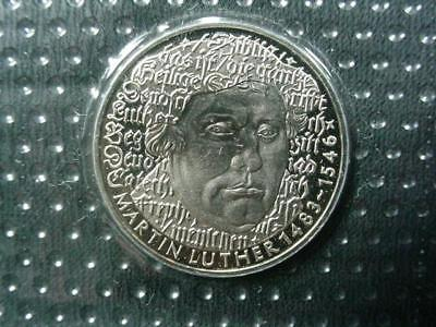 NobleSpirit NO RESERVE Exciting 1983 German Martin Luther 1483-1546 5 Mark Coin