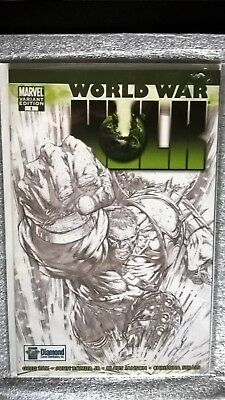 World War Hulk #1 Diamond Variant - Marvel NM!