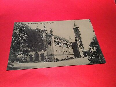 The Memorial Church,- Cawnpore India Vintage Postcard