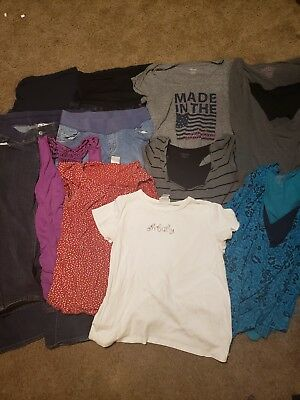 Womens medium maternity clothes lot