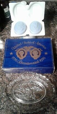 Avon Bicentennial Plate with original box and soaps