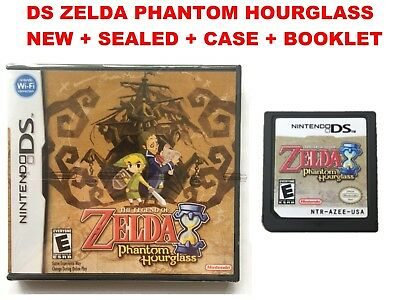 The Legend of Zelda Phantom Hourglass Game Nintendo DS DSi + 3DS SEALED AND NEW
