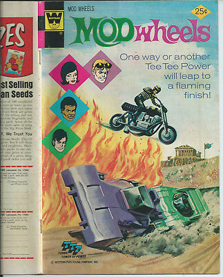 MOD WHEELS #16  WHITMAN COMICS 1975 (Near mint)