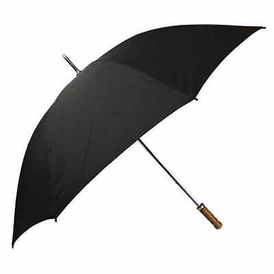 Willow Tree Large Straight Classic Golf Wedding Black Umbrella